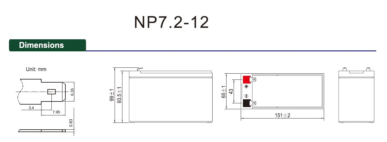 np series agm deep cycle battery